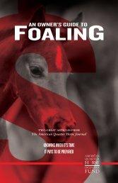FOALING - AQHA.com