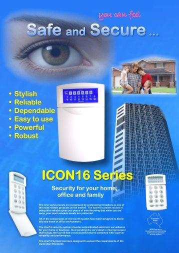 Download the Icon16 brochure with LCD keypad - MCM Electronics