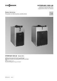 Datos técnicos Vitoplex 100-LS SXD611 KB - Viessmann