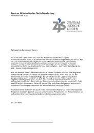Newsletter Mai 2013 - Zentrum Jüdische Studien Berlin-Brandenburg