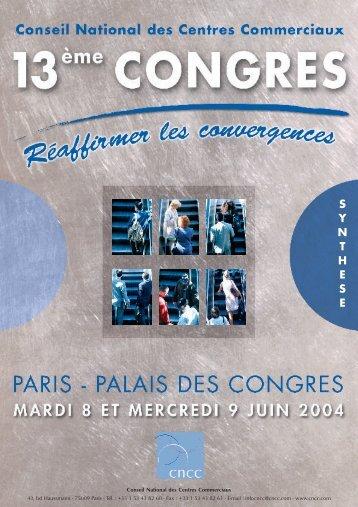 Gratuite en version pdf - Conseil National des Centres Commerciaux