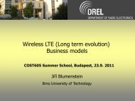 Techno-economic modeling and Long Term Evolution model ...