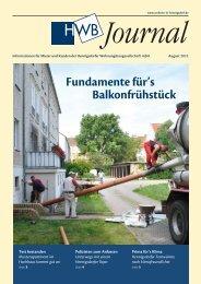 finden Sie das HWB Journal August 2012 - h e n n i g s d o r f . d e