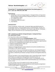 Berliner Herzinfarktregister e. V.