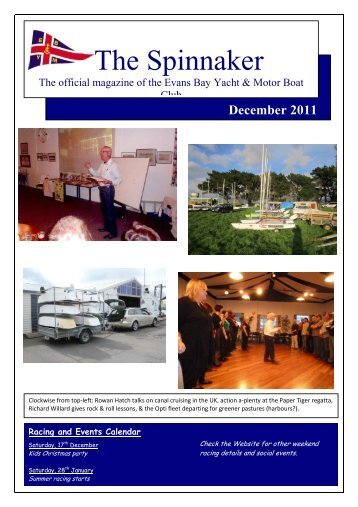 December 2011 - Evans Bay Yacht & Motor Boat Club