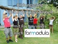ForModula - Fachstelle für kirchliche Jugendarbeit