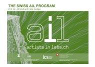 Presentation Slides - Swissnex Singapore