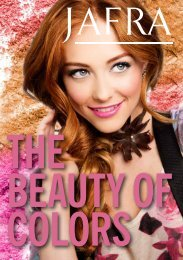 Beauty of Color, September 2013 - Jafra Cosmetics