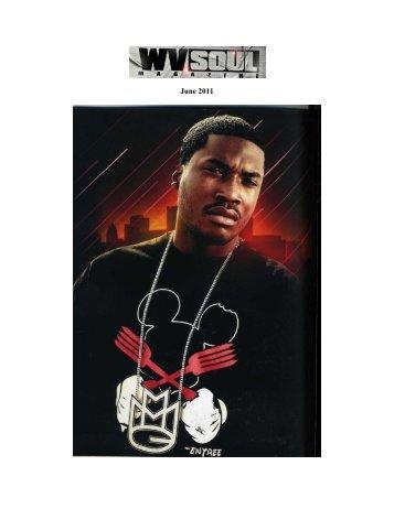 WV Soul Magazine feature, June 2011
