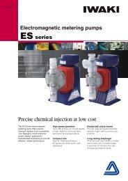 Electromagnetic metering pumps -  Iwaki Europe GmbH
