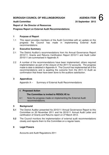 Item 8 - External Audit Progress Report - Ealing Council