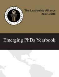 Emerging PhDs Yearbook - The Leadership Alliance