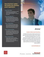 arena - brochure - ACT Solutions
