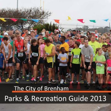 City of Brenham Parks Guide 2013