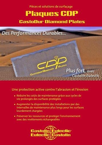 Plaques CDP - Castolin Eutectic