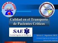 Calidad en el Transporte de Pacientes Críticos - Reeme.arizona.edu