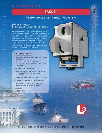 """L-3 Sonoma EO EAGLEâ""""¢ - L-3 Communications"""