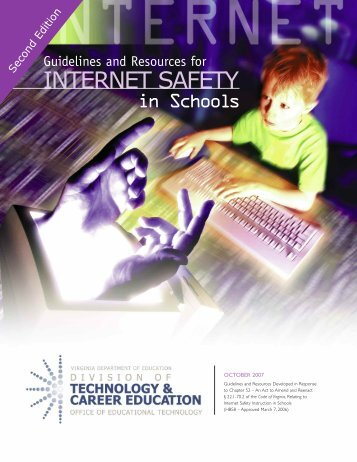 Guidelines and Resources for Internet Safety in Schools - Richmond ...