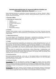 Gestaltungsempfehlungen für wissenschaftliche Arbeiten am ...