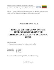 Spatial distribution of fish feeding grounds in the ... - ku corpi