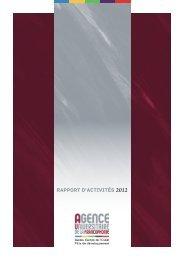Consultez le bilan d'activité 2012 du BEO - AUF