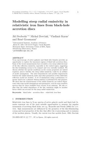 Modelling steep radial emissivity in relativistic iron lines from black ...