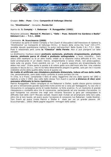 Gruppo: Odle – Puez - Cima: Campanile di Vallunga ... - Il Monodito