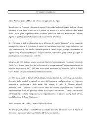 CV MARCO ANDREASI Marco Andreasi è nato a Milano ... - Edison