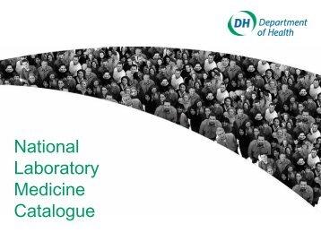 National Laboratory Medicine Catalogue - ihtsdo