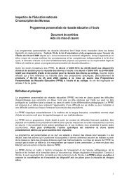 PPRE doc synthèse - IEN des Mureaux