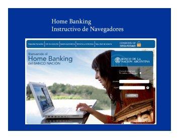 como verificar mi navegador - Banco De La Nación Argentina
