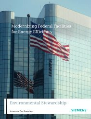 Modernizing Federal Facilities for Energy Efficiency ... - Siemens