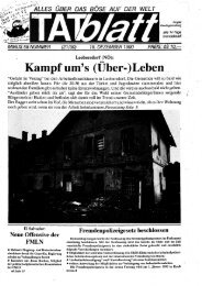 Kampfum's (Uber-)Leben