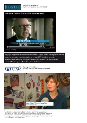 Reportage te herbekijken op http://www.avs.be/documenten/video ...