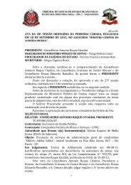 Conselheiro Antonio Roque Citadini PROCURADOR DO MINI