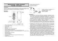 Bruksanvisning – trådløs værstasjon T35.1028 – TFA Classic