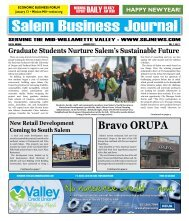 Jan 2011 - Salem Business Journal