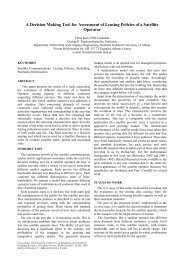 A Decision Making Tool for Assessment of Leasing Policies of a ...