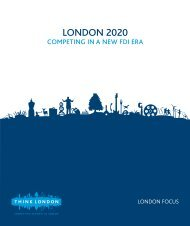 London 2020 – Competing in a new FDI era - London & Partners