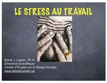 Le stress au travail - Asstsas