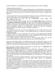 Ein Brief an Nabis e - NABIS e.V.