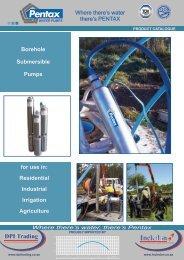Borehole Submersible Pumps - Incledon