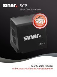 Brochure SCP PDF - Sinar Photography