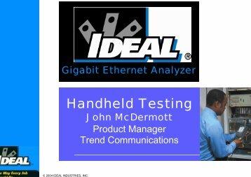 Gigabit Ethernet - Ideal Industries