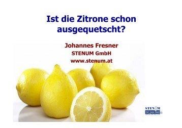 Energieoptimierung - STENUM GmbH