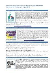 News Deutsch 20120824.pdf - Fédération Suisse de Ski nautique et ...
