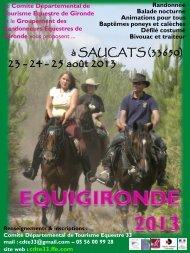Dimanche 21 Avril 2013 - Equigironde 2013 à Saucats - FFE