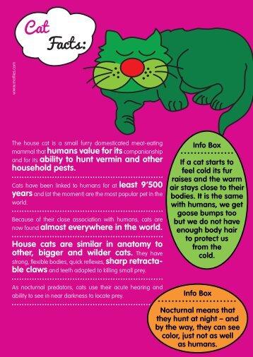 Cat Facts: - Motlies
