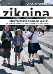 Zikoina 140. Mayo 2009 - Urduñako Udala