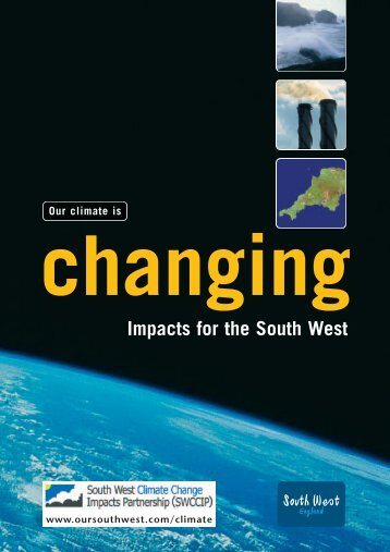 Our Climate is Changing - Our South West